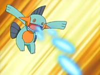 entrenamiento pokemon EP444_Marshtomp_usando_Disparo_lodo