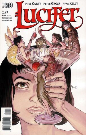 Cover for Lucifer #74