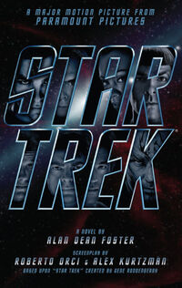 Star Trek novelization cover