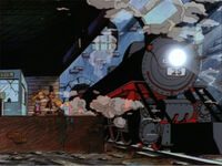 Haunted Train, episode