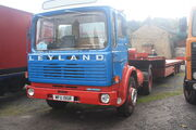 Leyland Buffalo 4x2 tractor unit reg no MFU 190R at NMM - IMG 2841