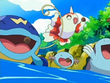 EP497 Whiscash, Goldeen, Wooper y Quagsire