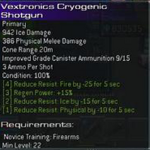 Vextronics Cryogenic Shotgun L22 prototype