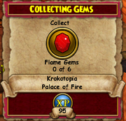 Collecting Gems