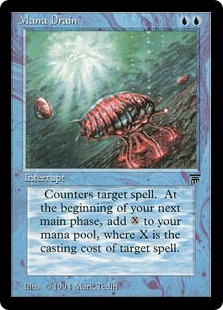 Mana Drain - The Magic: The Gathering Wiki - Magic: The Gathering ...