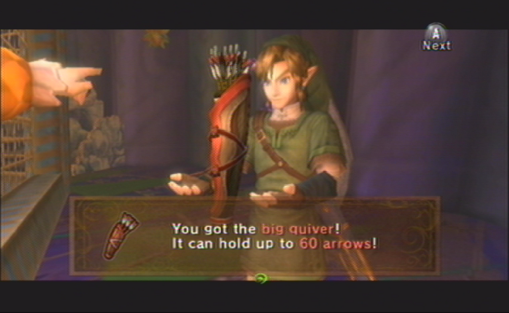 Link with quiver