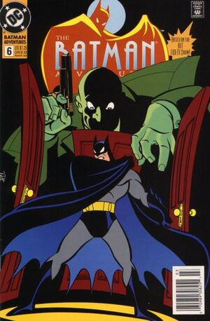 Cover for Batman Adventures #6