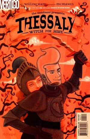 Cover for Thessaly: Witch for Hire #4