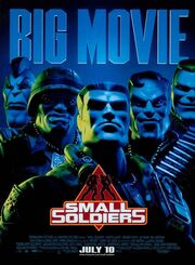 Small soldiers movie poster
