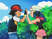 EP498 Ash y Maya ganadores