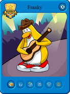 Club Penguin Charaters 137px-Franky_card