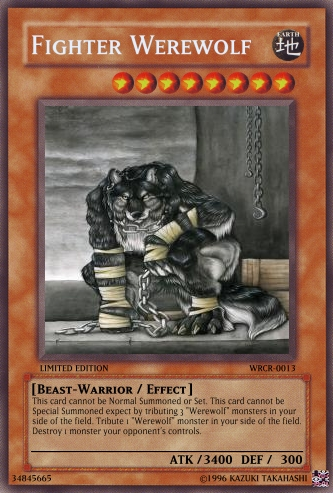 fighter werewolf yugioh card maker wiki cards decks