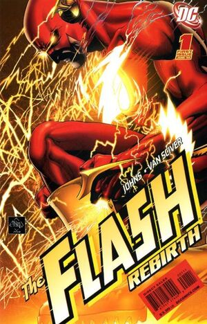 Cover for Flash: Rebirth #1