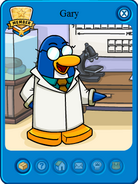 Club Penguin Charaters 138px-Gary_card_new