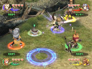 Crystal Chronicles gameplay