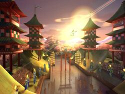 Quidditch World Cup - Japanese Quidditch Stadium 01