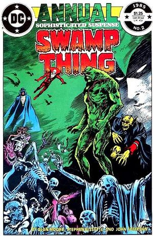 Cover for Swamp Thing Annual #2