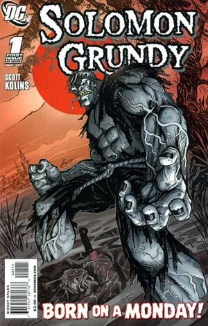 Cover for Solomon Grundy #1