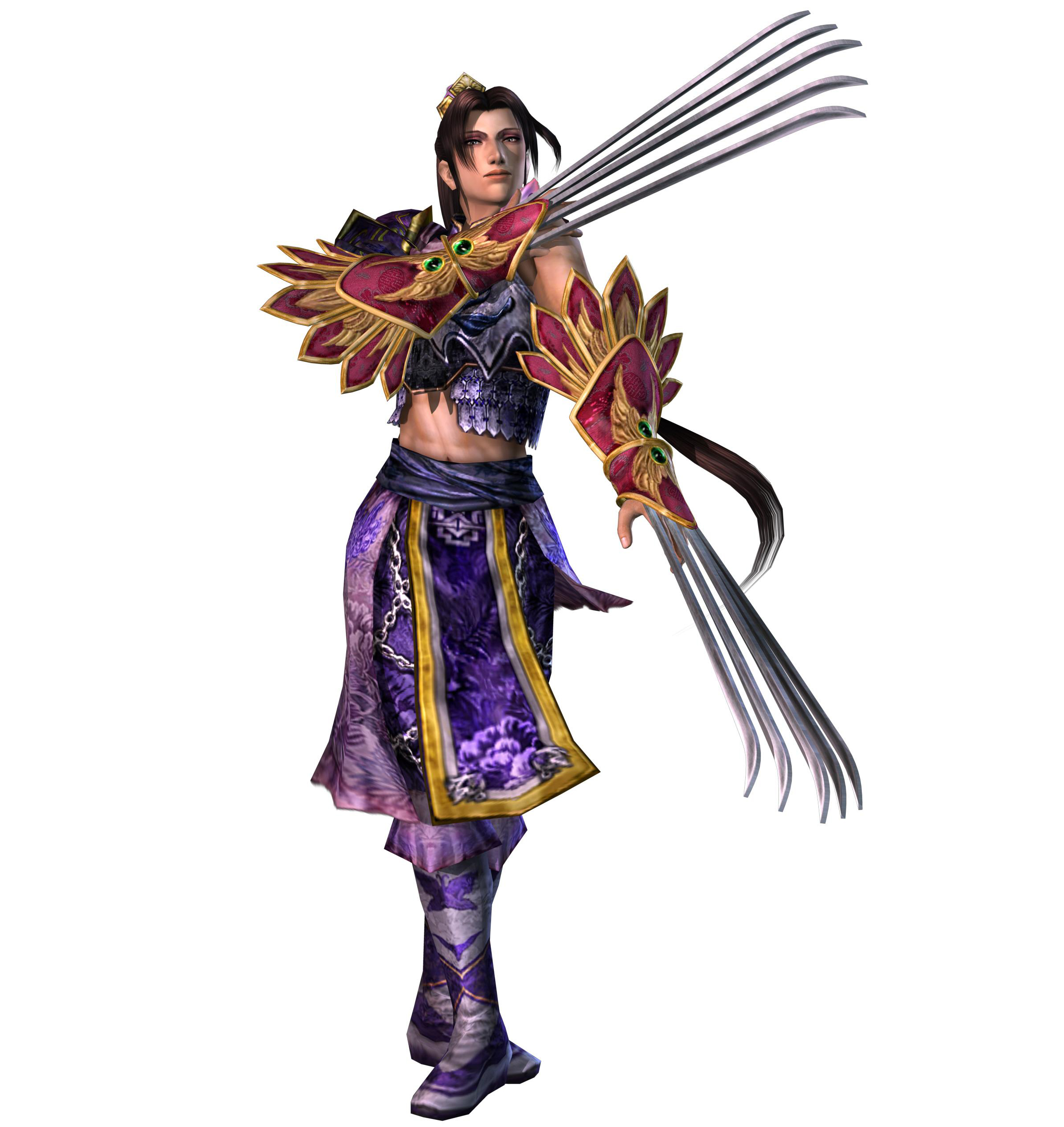 Warriors Orochi 3 Ultimate Equip Items: War-Butterfly (Zhang He, General Of Wei)