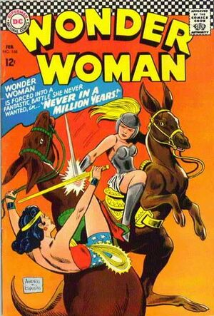 Cover for Wonder Woman #168