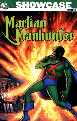 Cover for Showcase Presents: Martian Manhunter #1