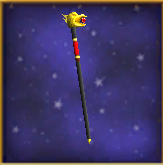 Glowing Ruby Wand