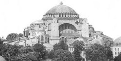 Hagia Sophia BW