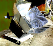 Solar oven tracker