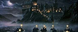 Hogwarts boats 1