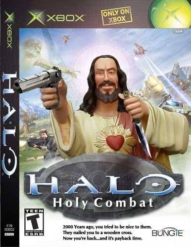 funny halo pics. Jesus halo awesome funny