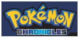 Logo oficial de las Crónicas Pokémon en inglés.