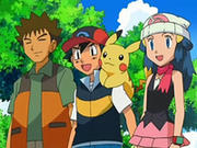 EP545 Brock, Ash y Maya