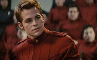 James T. Kirk in cadet&#39;s dress uniform