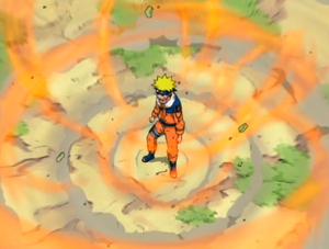 Naruto Using The Fox&#39;s Chakra