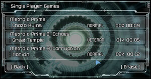 Prime Trilogy Menu