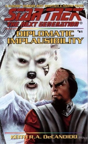 Diplomatic Implausibility cover imag