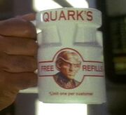 Quark&#39;s branded mug
