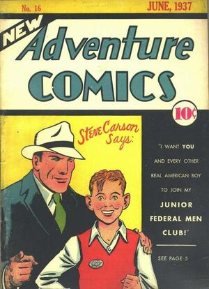 Cover for New Adventure Comics #16