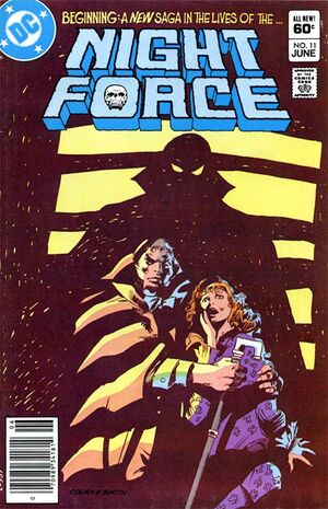 Cover for Night Force #11
