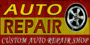 Auto Repair sign
