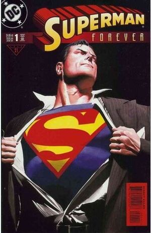 Cover for Superman Forever #1