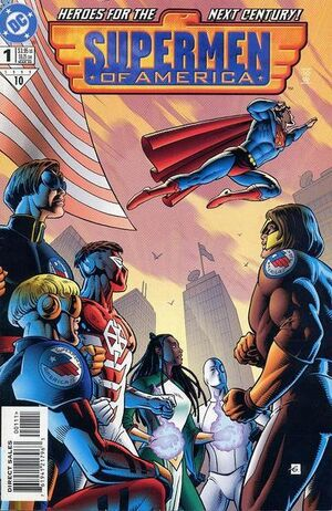 Cover for Supermen of America #1
