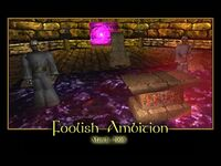 Foolish Ambition Splash Screen