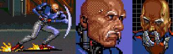 Genesis / 32X / SCD - Streets of Rage 3 - The Spriters ...  |Streets Of Rage 3 Zan