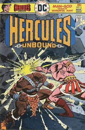 Cover for Hercules Unbound #3