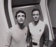 David Gerrold and William Shatner