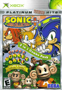 Sonic Mega Collection Plus, Super Monkey Ball Deluxe 2 in 1 combo pack