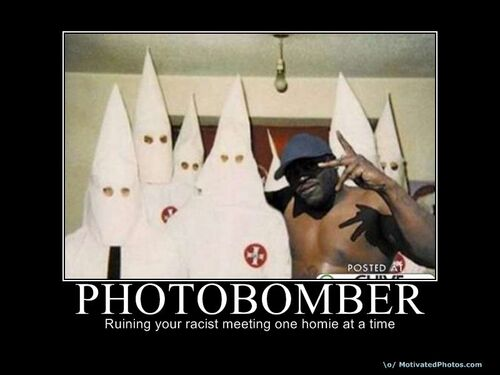 Kkk-photobomber