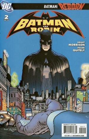 Cover for Batman and Robin #2