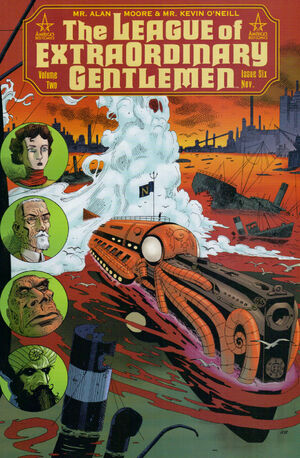 Cover for League of Extraordinary Gentlemen #6